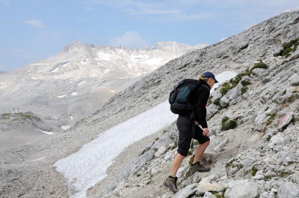 bergsteigen im wettersteingebirge oberbayern