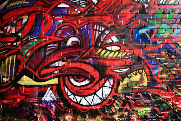 grafitti in der werregaaren straat