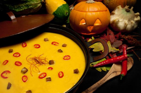kuerbis chilli suppe