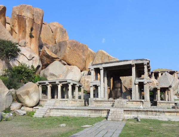 nandi temple at vijayanagara