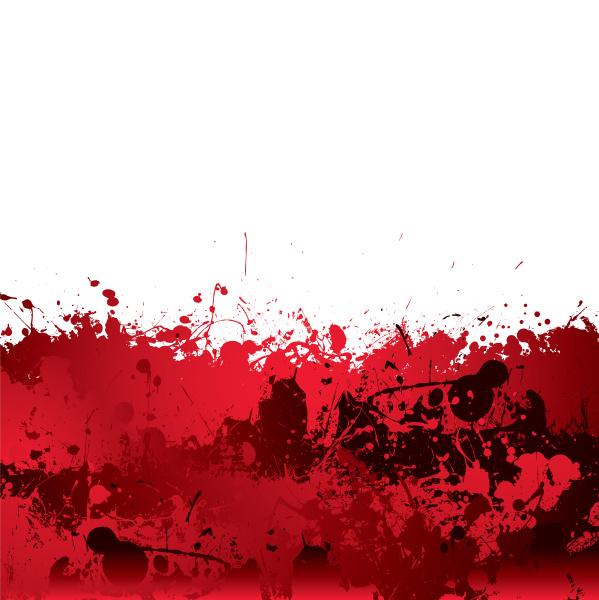 blut splatter hintergrund