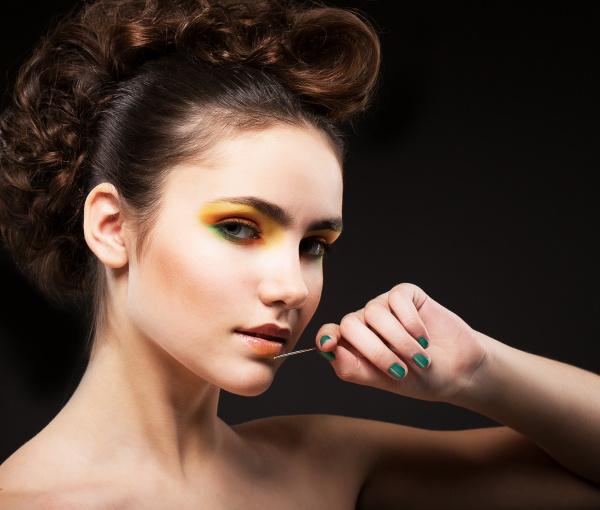 ambition glanz sophisticated lady fashion model