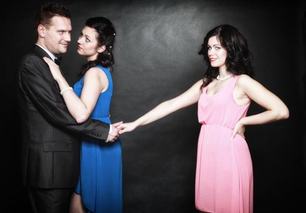 eheliche untreue konzept liebe dreieck leidenschaft