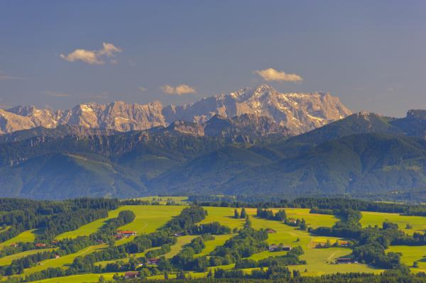 zugspitze im wettersteingebirge