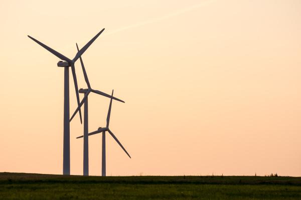 umwelt industrie industriell sonnenuntergang sonnenaufgang propeller