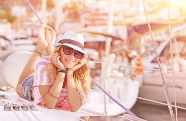 entspannung auf segelboot