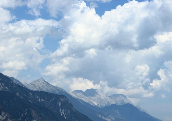 wolke alpen sommer sommerlich formation weich