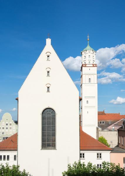 turm kirche stadt europa bayern deutschland