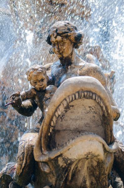 blau stadt denkmal monument stein statue