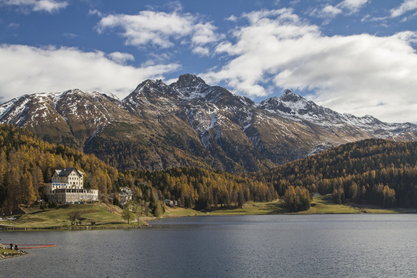 st moritzersee