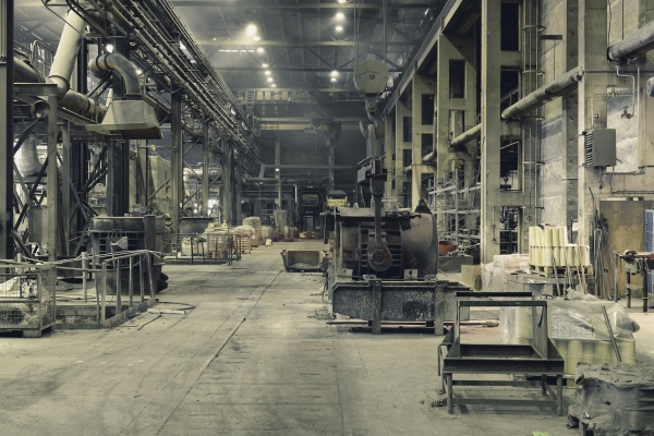 halle arbeitsstelle bauten farbe industrie industriell