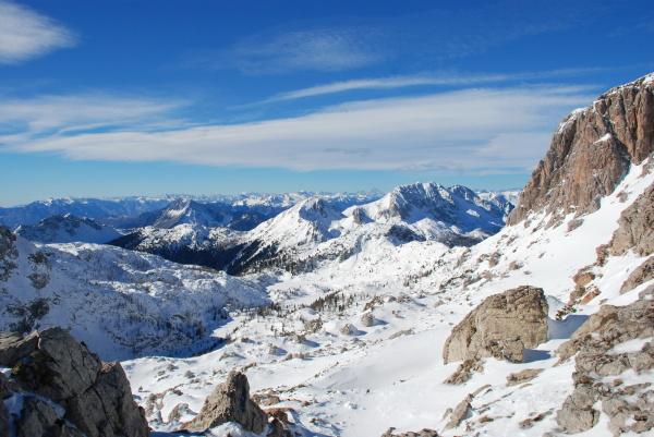 wintersportregion nassfeld kaernten OEsterreich