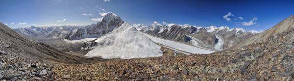 gletscher in tadschikistan