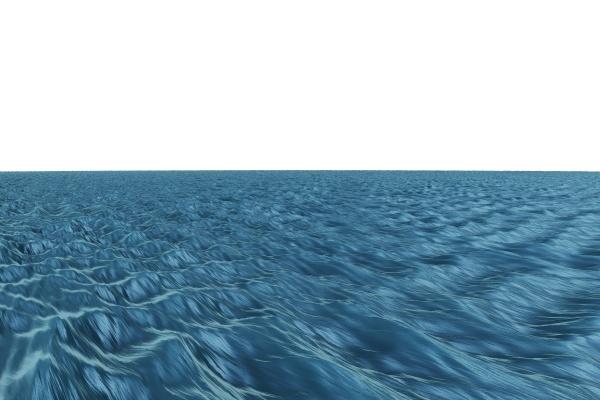 blau rauh wellen illustration digital derb