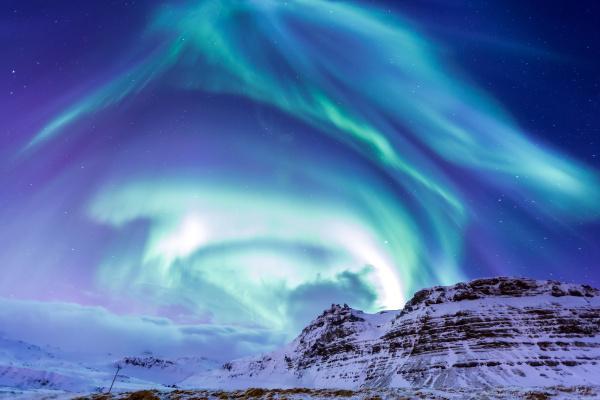 das nordlicht aurora island