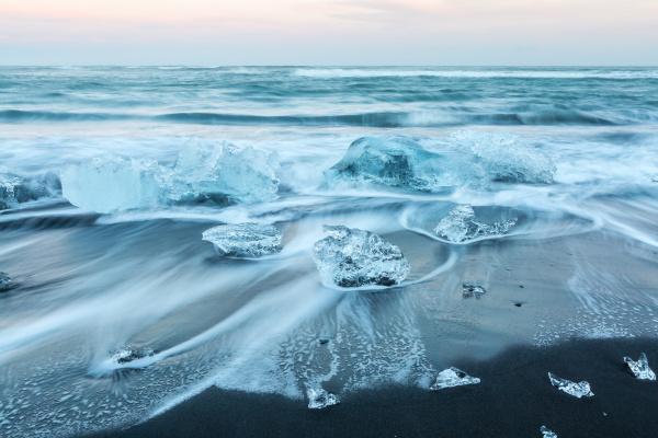 iceberg, strand, island - 13987713