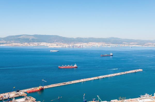 ansicht von gibraltar bay