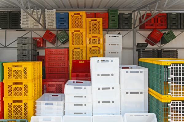 transport logistik transportieren plastik kunststoff boxen