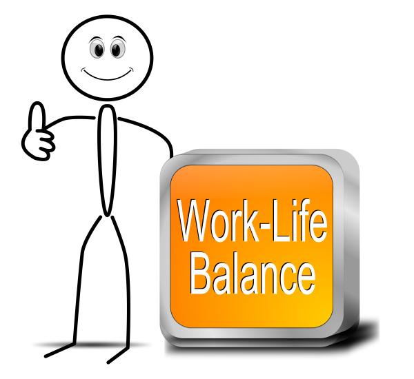stickman mit work life balance taste