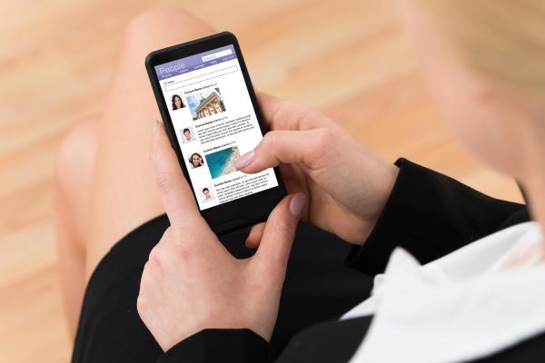geschaefts surfen social networking site
