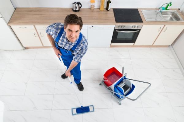 janitor reinigung boden