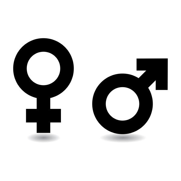 maennlich weiblich symbol