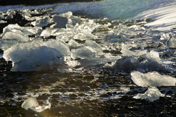 eisblöcke, an, der, gletscherlagune, jokulsarlon, island, im - 14933299