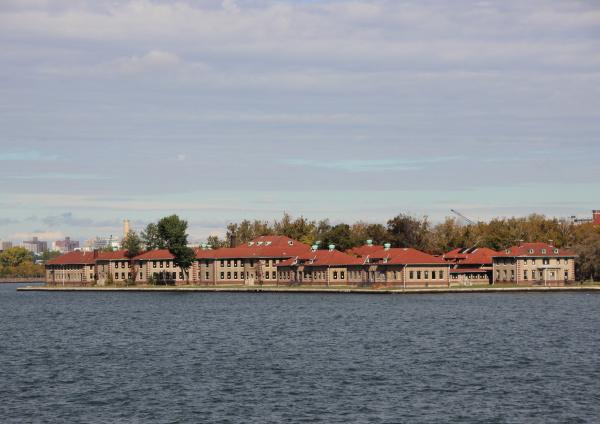 ellis island mit red roof administration