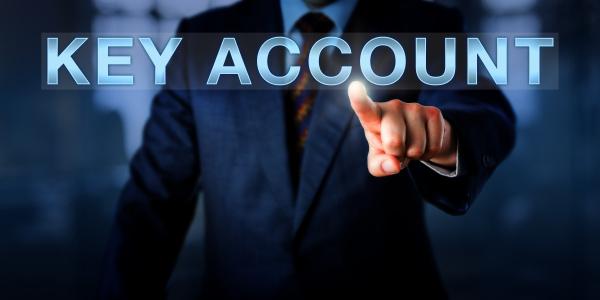 sales manager key account pushing