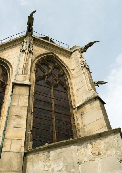 kirche untersicht der apsis