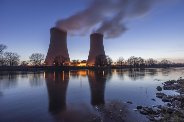 deutschland niedersachsen grohnde kernkraftwerk grohnde