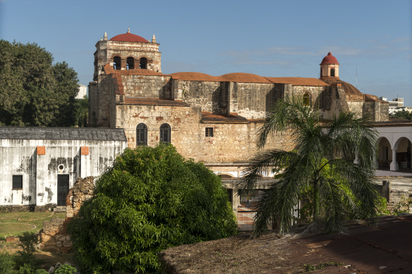 dominikanische republik santo domingo iglesia de