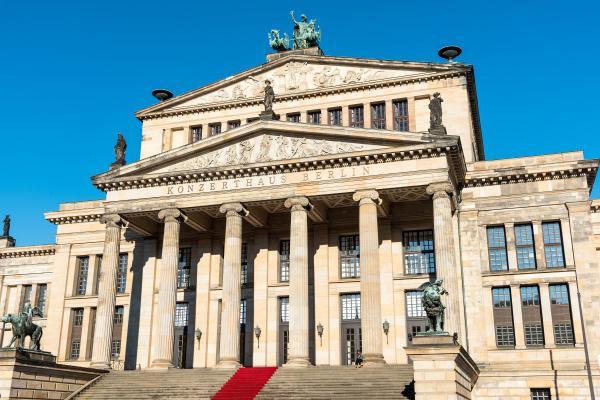 konzerthaus am gendarmenmarkt in berlin