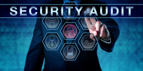 corporate it manager pushing security audit