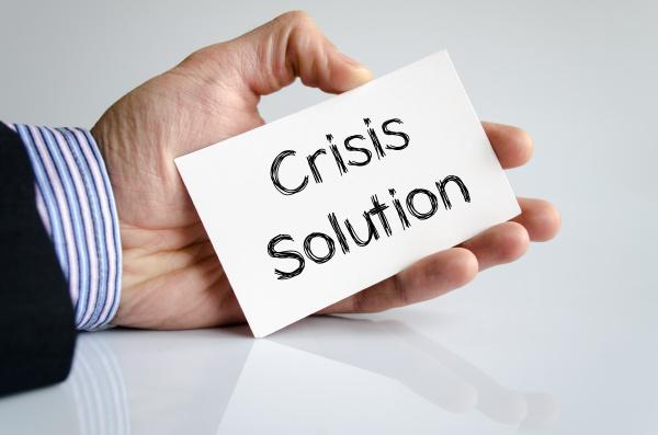 krisenloesungstextkonzept