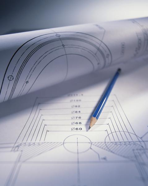 ingenieurskunst und bleistift