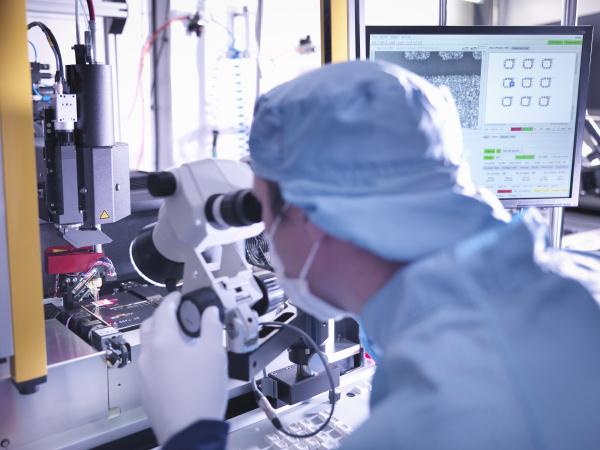 blau komponente elektronik industrie wissenschaft forschung