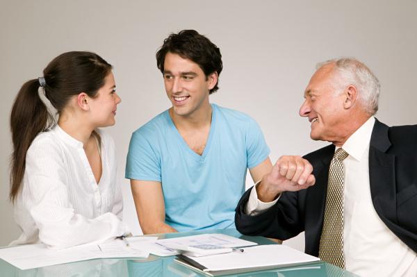 paar und finanzberater