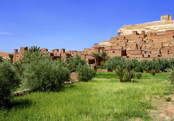 kasbah ait benhaddou unesco weltkulturerbe marokko