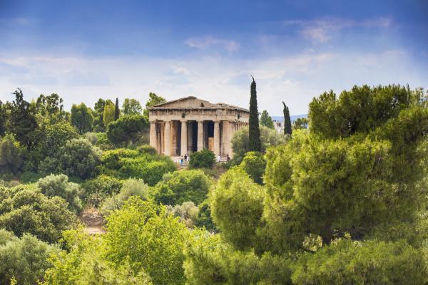 tempel des hephaestus die agora athen