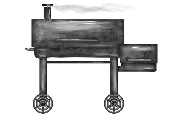 raucher, auf, weiß - 19107837