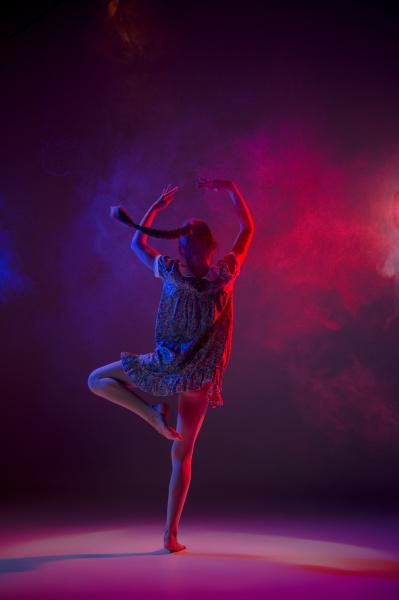 der teenager taenzer des modernen balletts