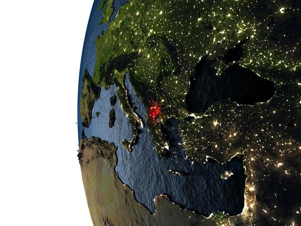 umwelt space nacht nachtzeit lichter sonnenuntergang