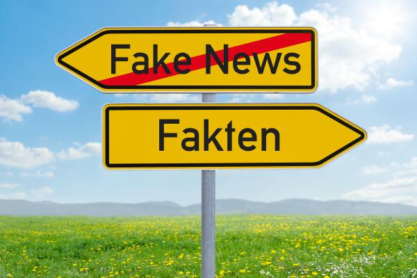 pfeilwegweiser fake news oder