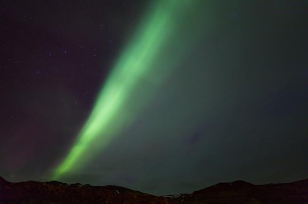 das nordlicht aurora borealis