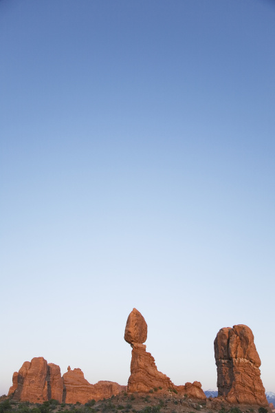 usa utah balanced rock im arches