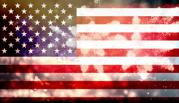 amerikanisch amerika party feier fest fahne