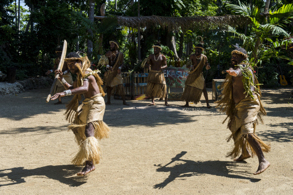 ekasup cultural village efate vanuatu pacific