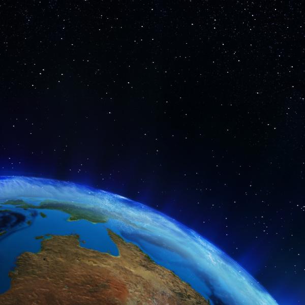 wiedergabe planet australiens 3d