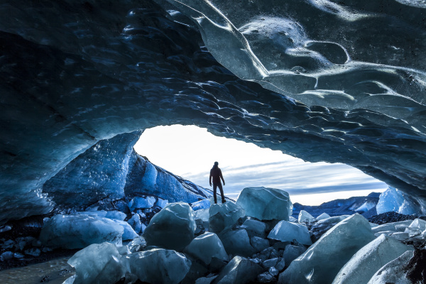 blau fahrt reisen winter hoehle nationalpark
